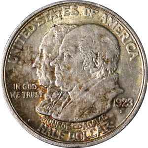 1923-S Monroe Commem Half Dollar Great Deals From The Executive Coin Company