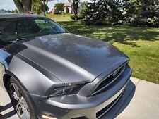 2013 2014 Metallic Gray Ford Mustang Hood Grey