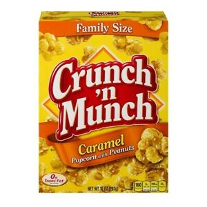 Crunch 'N Munch Family Size Caramel Popcorn with Peanuts