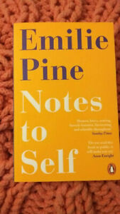 Notes to Self by Emilie Pine, paperback