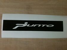 """YOUR NAME/LOGO""  GRAND PUNTO 06/07 3rd BRAKE LIGHT STICKER/OVERLAY"