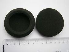 2 Ohrpolster Schaumstoff 65mm zB für Logitech H600 Headset