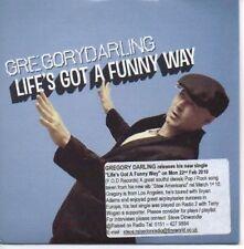 (AH61) Gregory Darling, Life's Got A Funny Way - DJ CD