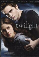 Twilight (DVD, 2009, 3-Disc Deluxe Edition)