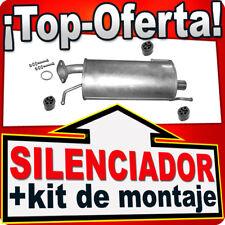 Silenciador OPEL AGILA B SUZUKI SPLASH 1.0 1.2 También LPG Escape AHC