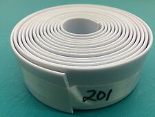 "1.5"" Vinyl Chair Strap Strapping Patio Furniture Repair 10' White 1 1/2 "" #201"