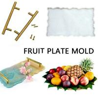 Large Silicone Tray Mold Irregular Coasters Resin Art Handmade Tray Mould SET~