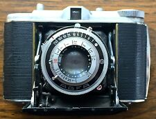Agfa Isolette I folding camera with case 120 film