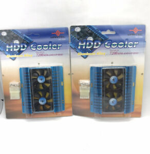 Vantec HDD Cooler Aluminum Alloy P/N: HDC-502A Two Packs
