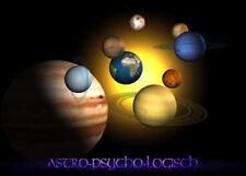 PERSÖNLICHES HOROSKOP Solar (Geburtsjahranalyse, Solarhoroskop)