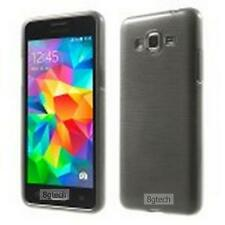 Grey Luxury Brushed TPU Skin Cover Case for Samsung Galaxy Grand Prime SM-G530W