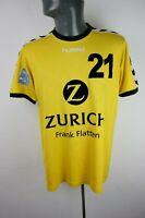 HSG Dusseldorf Home Handball match worn Shirt Trikot Mens L Large F473