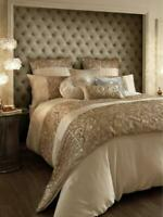 Kylie Minogue Marnie Bedding Collection 200 Thread Count Duvet Covers Gold