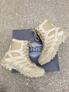 "Merrell Moab 2 8"" Tactical Work Waterproof Boot Men's Size 11.5 M Coyote"