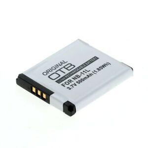 OTB Akku kompatibel zu Canon NB-11L / NB-11LH Li-Ion 3,7V 500mAh