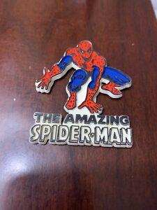 Vintage Amazing Spiderman Refrigerator Magnet 1970's Mego Marvel Stan Lee Ideal
