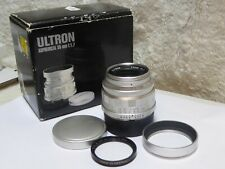 Voigtlander Ultron 35mm f1.7 Aspherical Vintage Line Silver - Leica M Mount