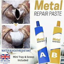 More details for permanent metal repair paste set weld repair industrial strength 50g