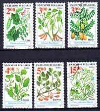 Flore - Arbres et Plantes Bulgarie (19) série complète de 6 timbres oblitérés