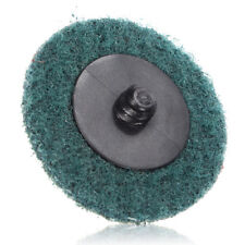 "3"" Fine Grit Sanding Finishing Discs Wheels And Mandrel Roll Lock Roloc™ Style"