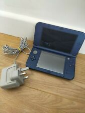 'New' Nintendo 3DS XL Metallic Blue Great condition with stylus and charger
