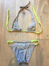 Eres due pezzi bikini costume da bagno Set dietro il collo alto FR 38 US 6 UK 10