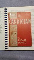 Ed Marlo 1st Edition The Cardician magic book