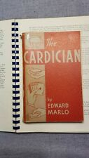 Ed Marlo 1st Edition The Cardician magic book