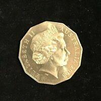 50c 2003 50th Anniversary Golden Jubilee Coronation AUSTRALIAN 50 CENT COIN UNC