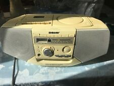 Sony Cfd-V25 Boom Box Cd Radio Cassette Recorder Mega Bass - Excellent Condition