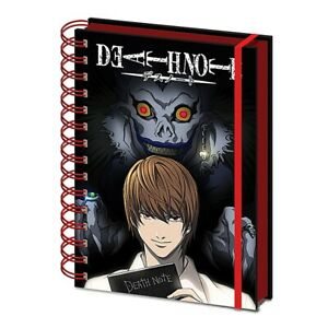 Genuine Death Note Shadow A5 Wiro Hardback Notebook Note Pad Anime Ryuk Yagami