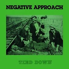 NEGATIVE APPROACH - Tied Down LP w/ DL - Sealed - NEW COPY Hardcore Punk Classic