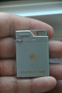 Vintage Crown Fuji Lighter with Toyota Crown Toyota Motor Advertising