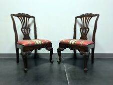 Hekman Marsala Oak French Country Dining Side Chairs - Pair 1