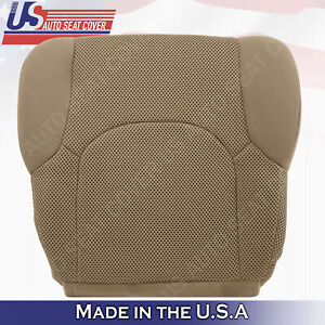2005 to 2019 Front Bottom Tan Cloth Seat Covers FITS: Nissan Frontier  S, SV, XE