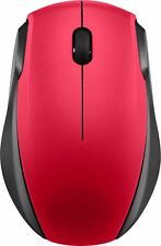 Insignia- Wireless Optical Mouse - Black/Red