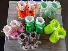 Babyschuhe Erstlingsschuhe Stricksocken Krabbelschuhe Baby Strickschühchen