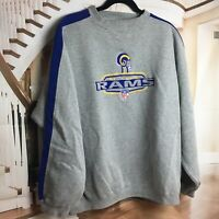 Puma St Louis Rams Football Men's XXL Sweatshirt NFL Embroidered Logo