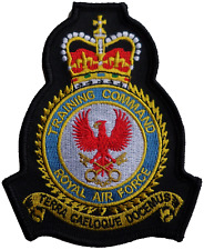 RAF Training Command Royal Air Force MOD Crest Embroidered Patch