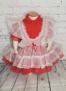 SELLING AS IS Vintage Childrens Dress Size 2t 3t Vintage Kids Dress Vintage Health-tex Dress Vintage Girls Dress