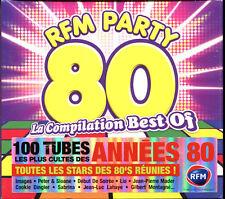 RFM PARTY 80 - LA COMPILATION BEST OF - 5 CD COMPILATION NEUF ET SOUS CELLO