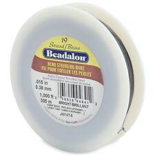 "Beadalon 19 Strand Bright .015"" Stainless Steel Flex Wire -1000ft"