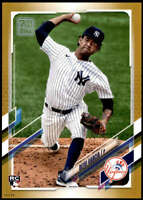 Deivi Garcia 2021 Topps 5x7 Gold #41 RC /10 Yankees