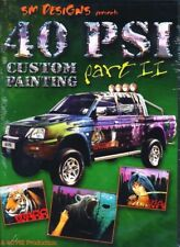 40 PSI Custom Airbrush Painting Part II Auto Air with Simon Murray DVD
