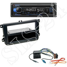 Kenwood CD USB autoradio + VW Caddy Beetle Amarok 1-din diafragma + adaptador ISO