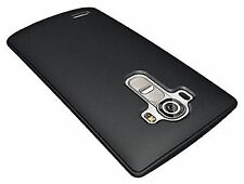 Thin Black Matte Frost Rigid Hard Plastic Back Case Cover Shell For LG G4