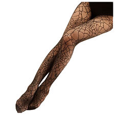 Frauen Schwarze Spinnennetz Pantyhose Damen Struempfe Strumpfhosen ET