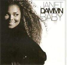 "JANET JACKSON  ""DAMM BABY"" NEW RARE 9 REMIX PICTURE DISC CD PROMO"