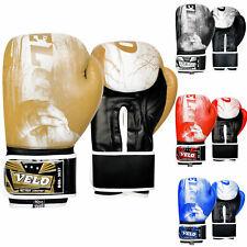 VELO Boxing Gloves Muay Thai Punch Bag Sparring MMA Training Kickboxing