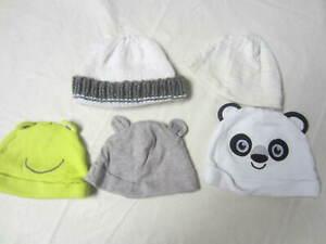 5 - Newborn Infant Hats